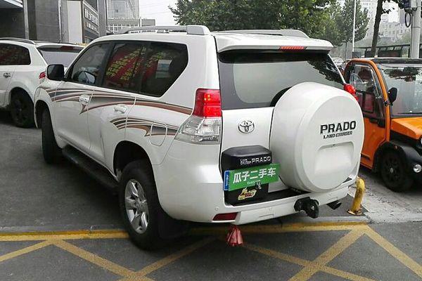 丰田普拉多 2010款中东版2.7顶配