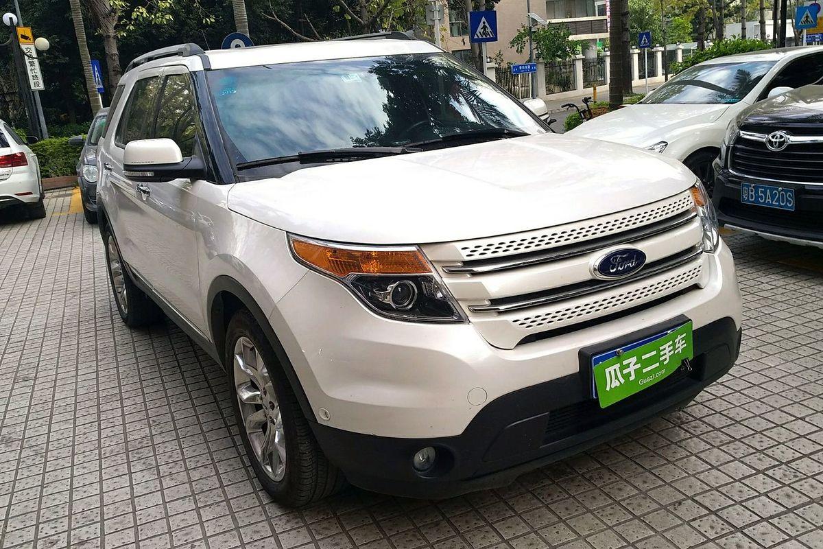 【深圳】福特探险者 2013款 3.5l 尊享型(进口)_瓜子