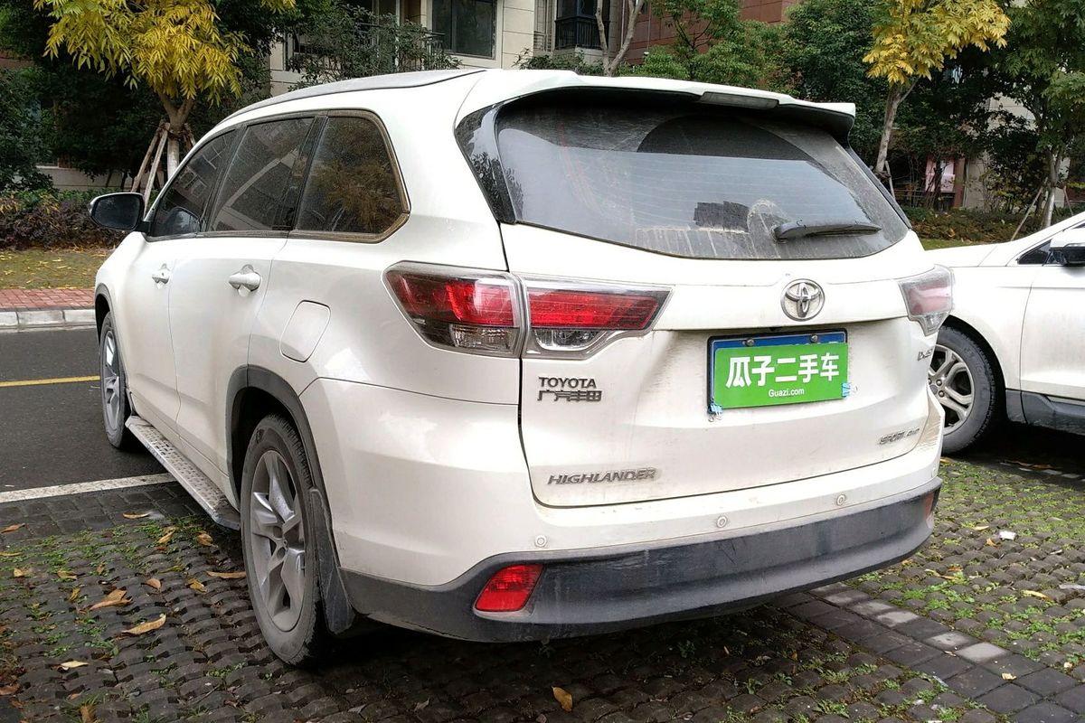 丰田汉兰达 2017款 2.0t 四驱豪华版 7座