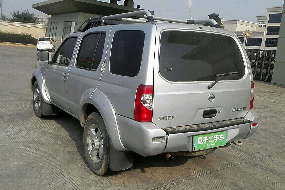 日产帕拉丁 2008款 2.4l 四驱标准型