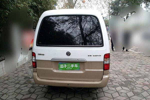 福田风景 2014款 2.0l快运标准型长轴版低顶486eqv4
