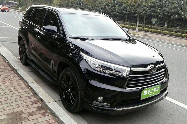 丰田汉兰达 2017款 2.0t 四驱炫黑限量版