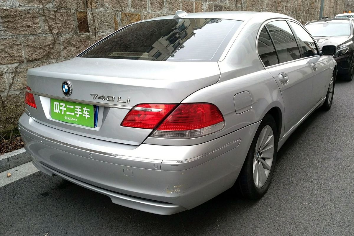 宝马7系 2005款 740li(进口)