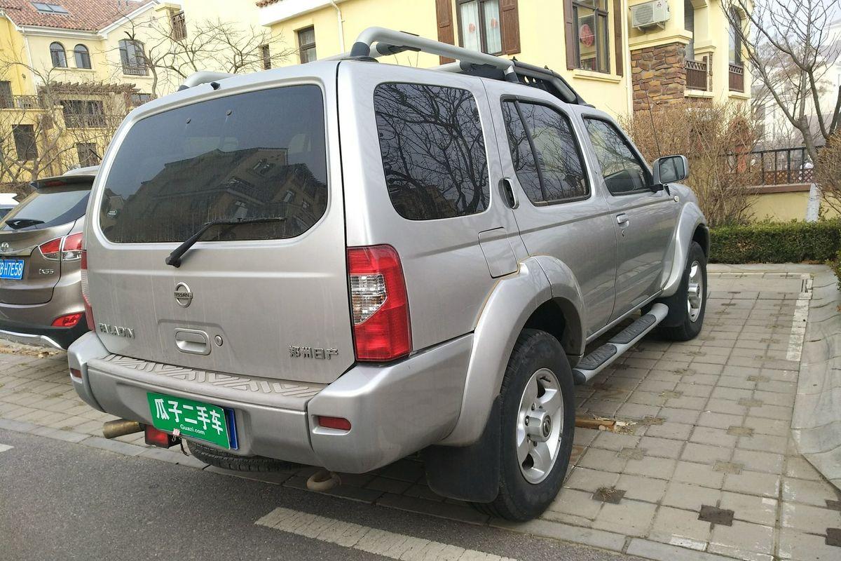 日产帕拉丁 2008款 2.4l 两驱标准型