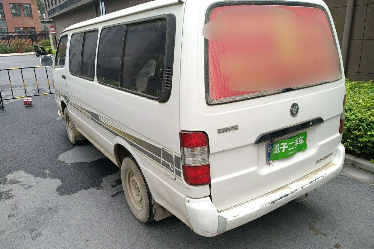 福田风景 2012款 2.0l快运标准型短轴版491eq4a