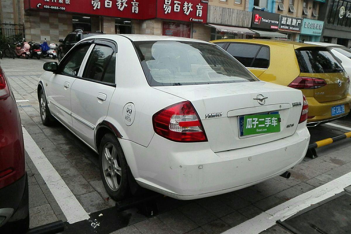 海马福美来 2008款 1.6l 手动舒适glx