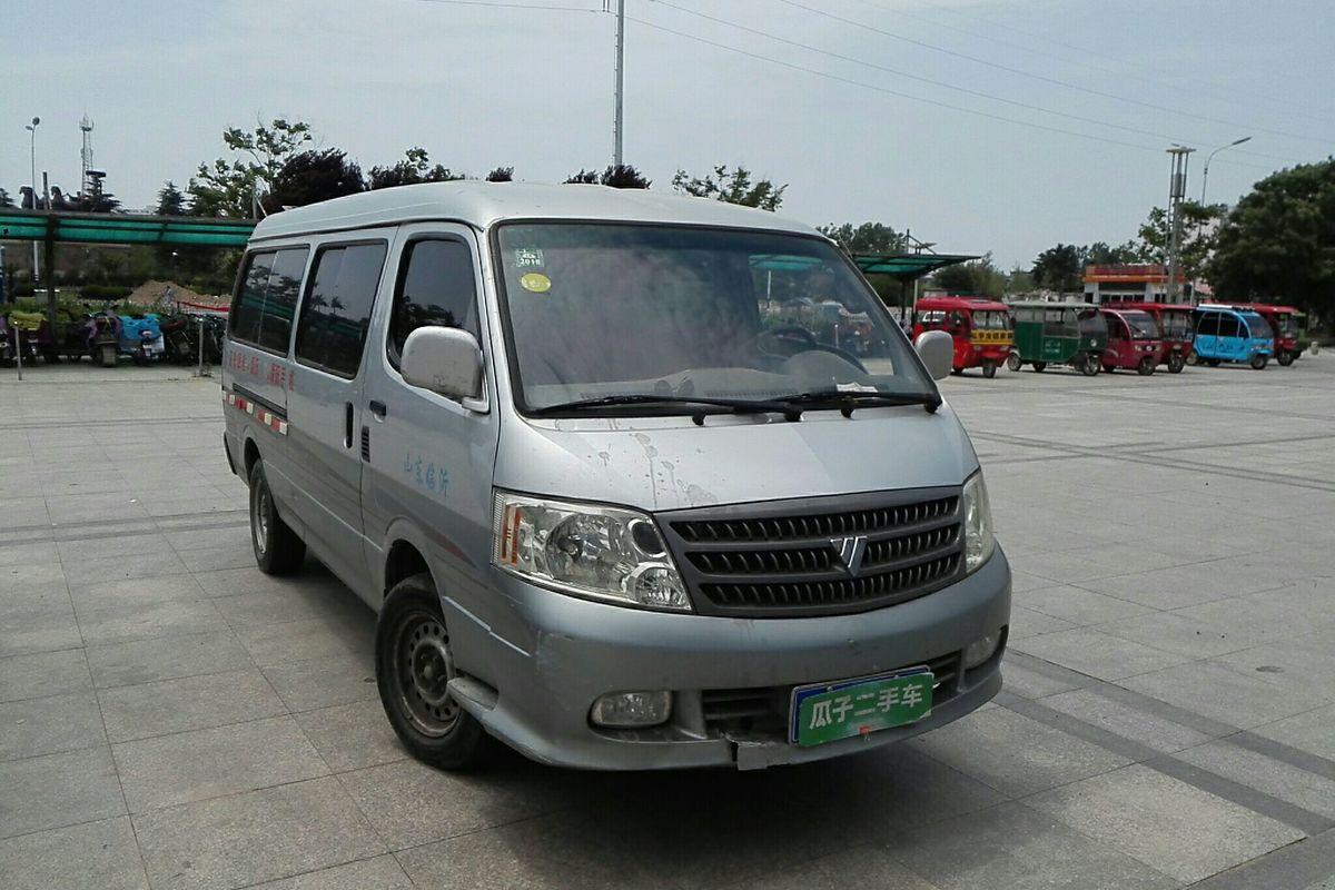 福田风景 2010款 2.0l快运经典型短轴版低顶491eq4a