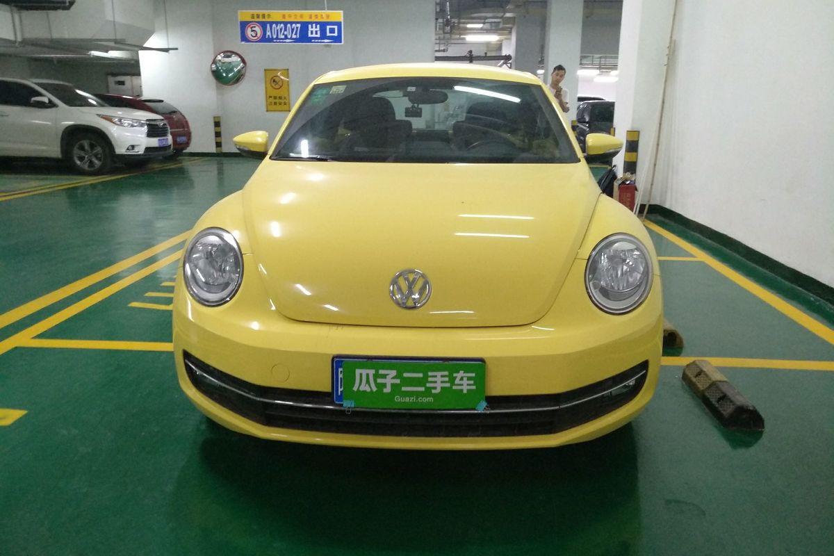 【西安】大众 甲壳虫 2013款 1.2tsi 时尚型(进口)_车