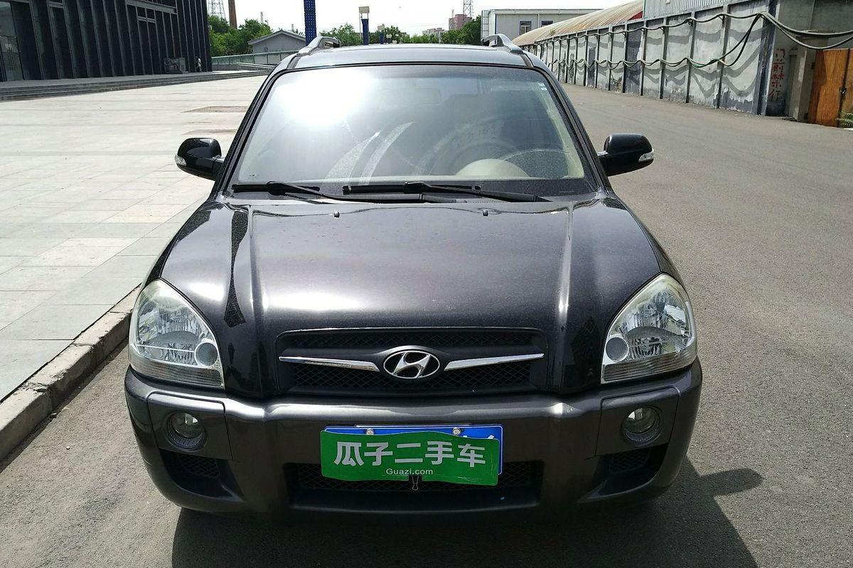 北京二手现代 途胜 2009款 2.0l 自动两驱天窗型_北京
