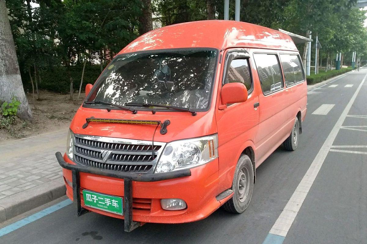 福田 风景 2012款 2.0l快运标准型长轴版491eq4a