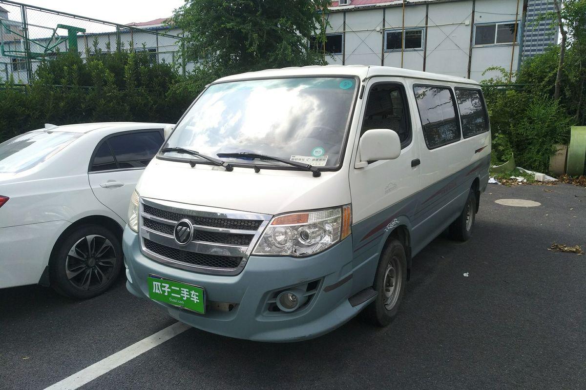 福田 风景 2012款 2.0l快运标准型短轴版491eq4a