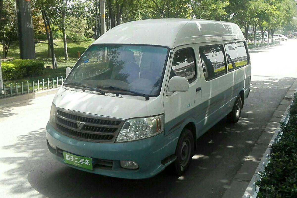 福田 风景 2012款 2.8t快运标准型长轴版95马力4jb1t