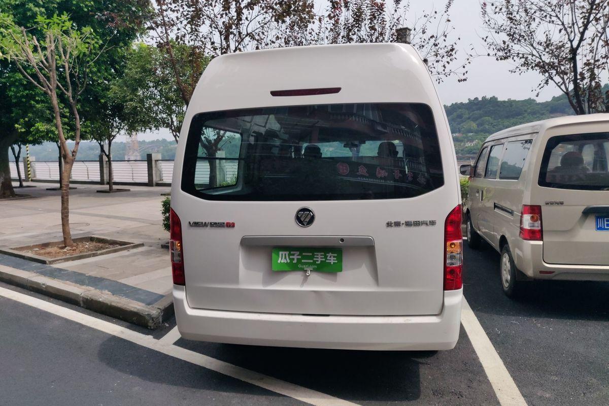 福田 风景g9 2017款 2.8t柴油商运版长轴6座4jb1t