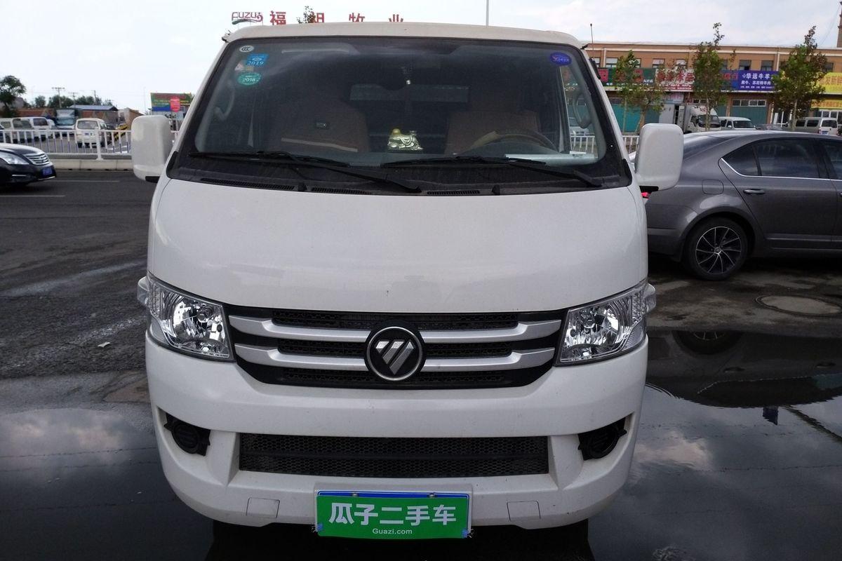 福田 风景g7 2017款 2.0l商运版短轴平顶厢货4q20m