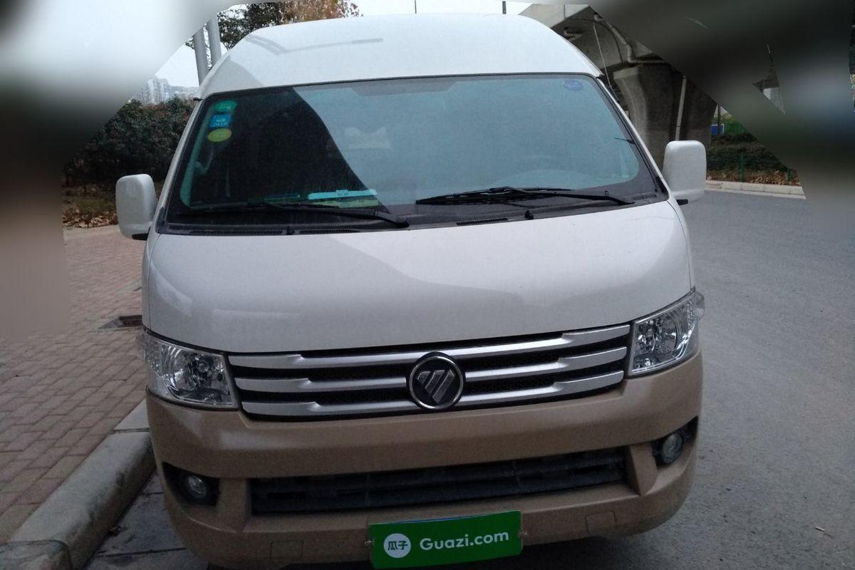 福田 风景g9 2017款 2.8t柴油商运版长轴9座4jb1t