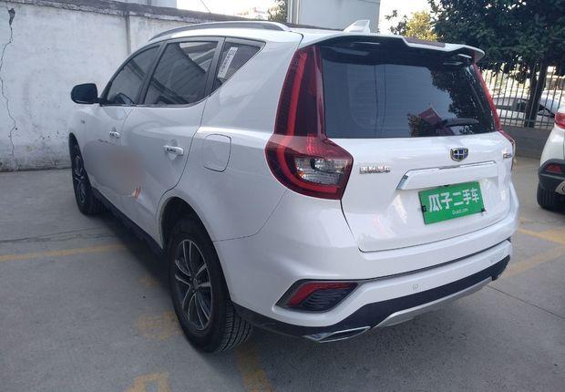 吉利远景suv 2018款 1.4t 自动 旗舰型 (国Ⅴ)
