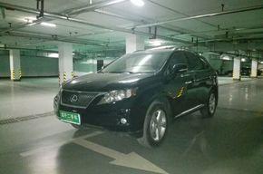 雷克萨斯RX 2011款 270 豪华版