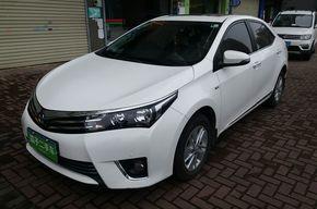 丰田卡罗拉 2014款 1.6L CVT GL-i