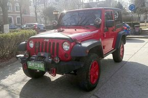 Jeep牧马人 2010款 3.8L 两门版 Sahara(进口)