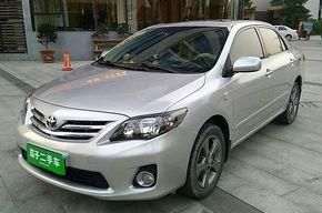 丰田卡罗拉 2012款 炫装版 1.8L CVT GL-i