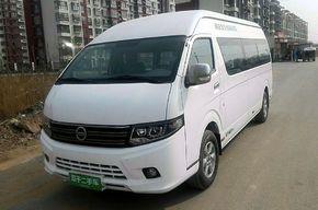 南京金龙开沃D11 2015款低顶纯电动低功自动挡