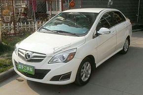 北京汽车E系列 2013款 三厢 1.5L 自动乐天版