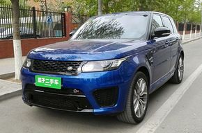 路虎揽胜运动版 2015款 5.0 V8 SC SVR(进口)