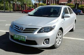 丰田卡罗拉 2013款 特装版 1.6L 自动至酷型GL