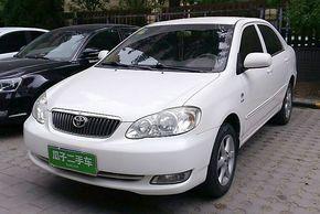 丰田花冠 2007款 1.6L 手动G