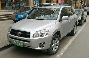 丰田RAV4 2009款 2.0L 自动豪华版
