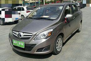 北京汽车E系列 2013款 三厢 1.3L 手动乐天版