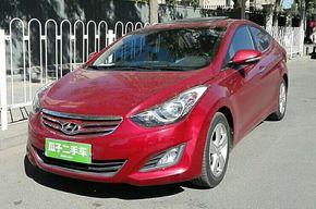 现代朗动 2012款 1.6L 自动尊贵型