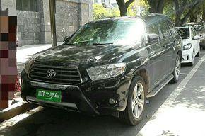 丰田汉兰达 2012款 2.7L 两驱7座豪华版