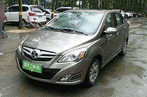 北京汽车E系列 2013款 三厢 1.5L 手动乐尚版