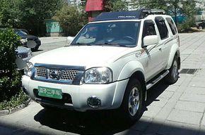 日产帕拉丁 2013款 2.4L 四驱标准型 国V