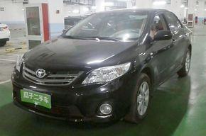 丰田卡罗拉 2011款 纪念版 1.6L 自动GL