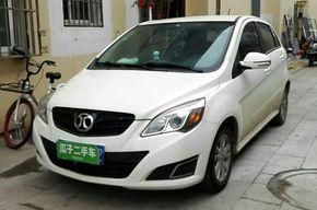 北京汽车E系列 2013款 两厢 1.5L 自动乐天版