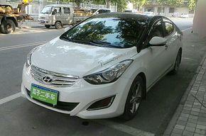 现代朗动 2013款 1.6L 自动尊贵型
