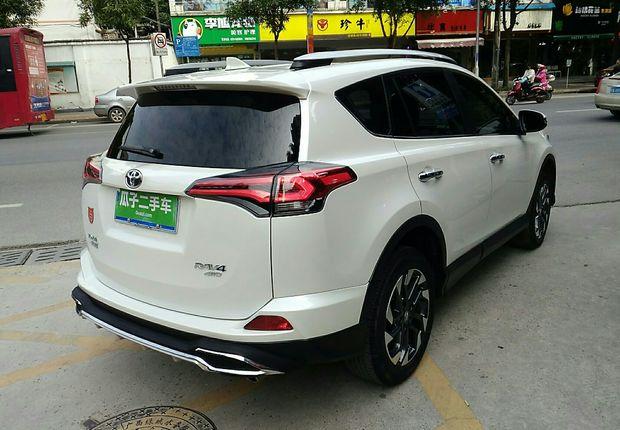 精真估提供二手车RAV4荣放 2016款 2.5L 自动 荣放 四驱精英版