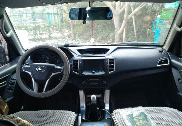 精真估提供二手车猎豹Q6 2015款 2.4L 手动 四驱版
