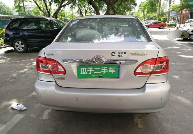 精真估提供二手车花冠 2011款 1.6L 手动 特惠版