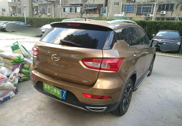 精真估提供二手车GS4 2015款 1.3T 手动 200T豪华版