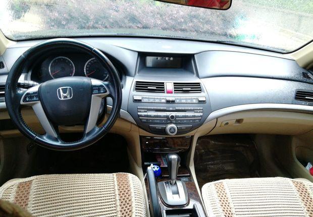精真估提供二手车雅阁 2008款 2.0L 自动 EX标准版
