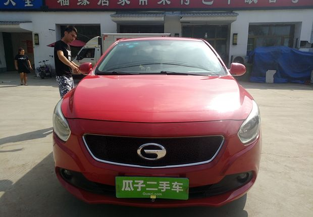 精真估提供二手车GA3 2013款 1.6L 手动 豪华版
