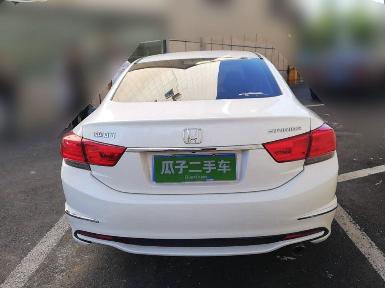 本田思铂睿 2015款 2.0L 自动 尊贵版 (国Ⅳ)