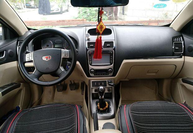 精真估提供二手车帝豪 2013款 1.8L 手动 三厢精英型