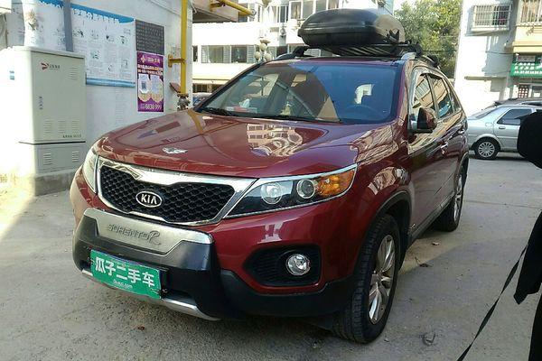 烟台 起亚索兰托2012款2.4L 汽油舒适版 进口 瓜子二手车直卖网图片