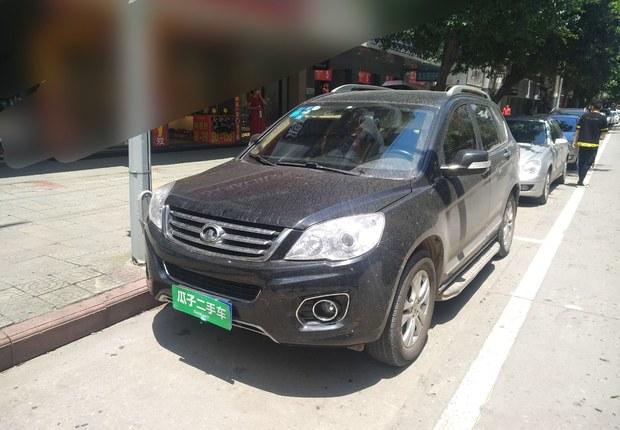 长城哈弗H6 2012款 1.5T 手动 前驱 精英型 (国Ⅳ)