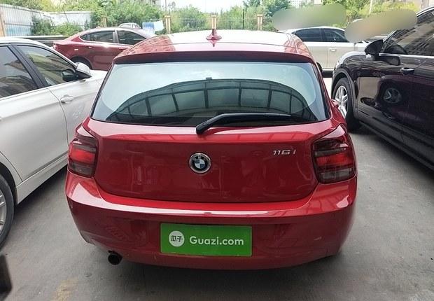 宝马1系 116i [进口] 2013款 1.6T 自动 汽油 改款领先版