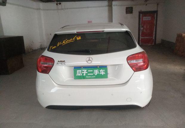 奔驰A级 A180 [进口] 2013款 1.6T 自动 汽油 时尚型